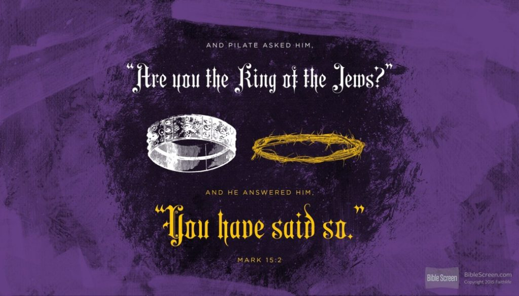Are You the King of the Jews?