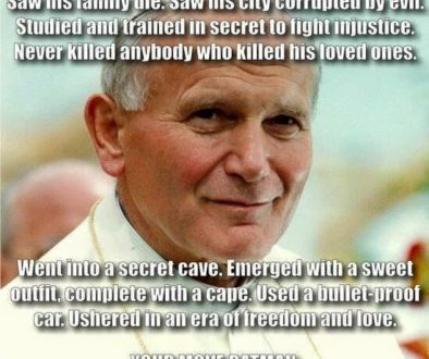 St. John Paul II: A Real-Life Hero