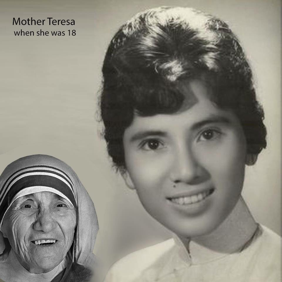 Saint Mother Teresa of Calcutta at Age 18 – Keen for God