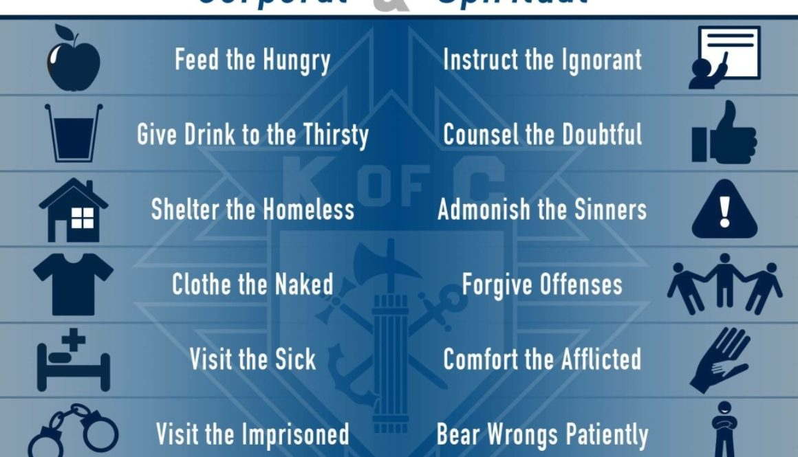 Corporal and Spiritual Works of Mercy