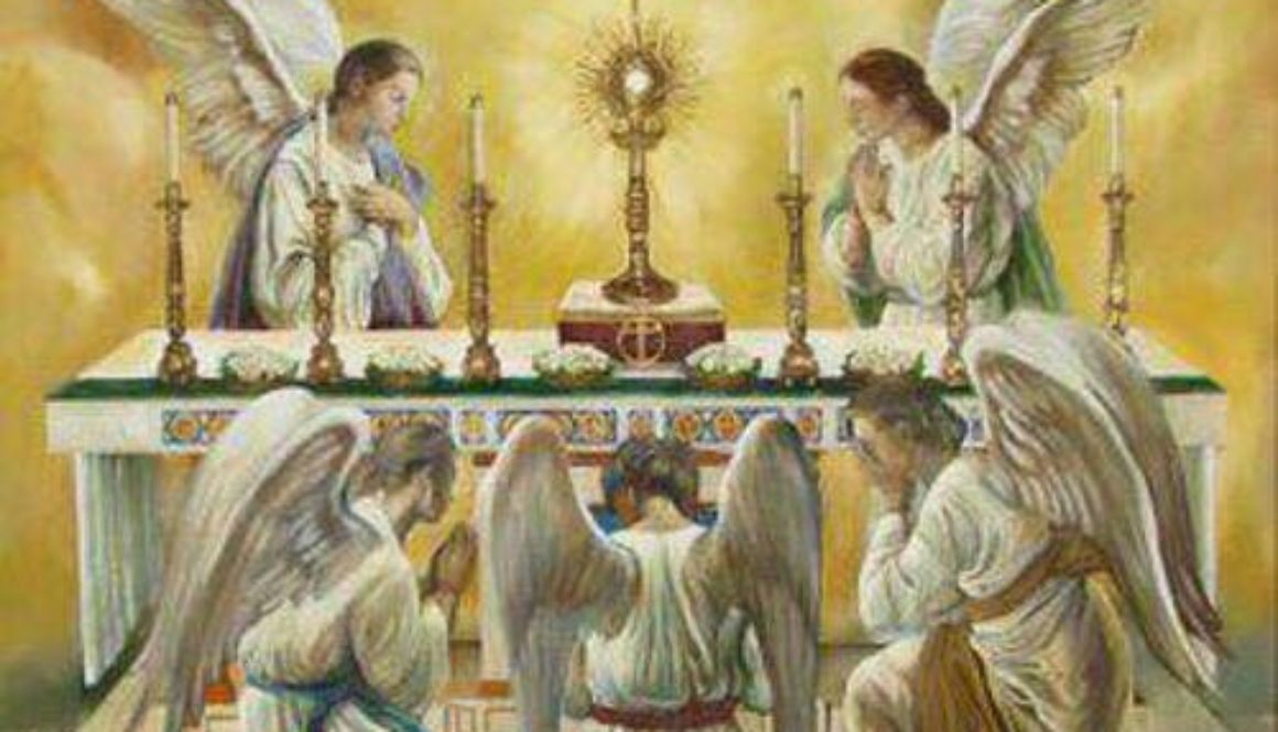 Angels Adoring the Blessed Sacrament