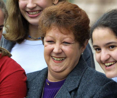 Norma McCorvey with Pro Life Activists